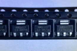 AMS1117-3.3V  SOT223 ,3.3V Voltage regulator