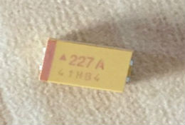 AVX new and original 220uF 10V 7343 D type tantalum capacitor 227A, support sample
